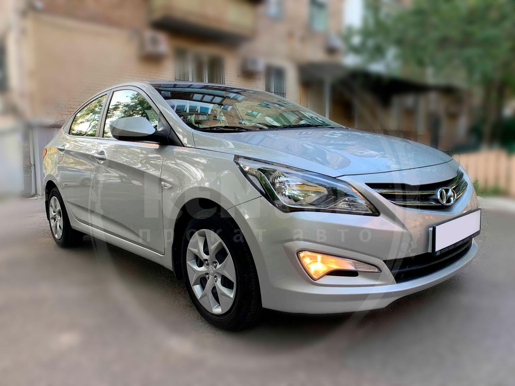 Аренда Hyundai Accent 2017