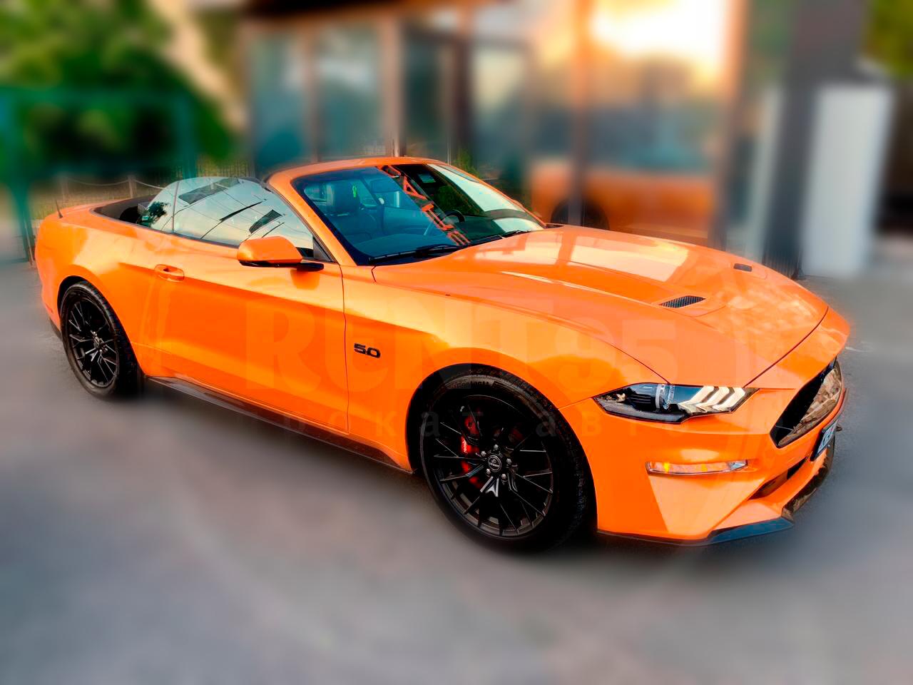 Оренда Ford Mustang Cabrio