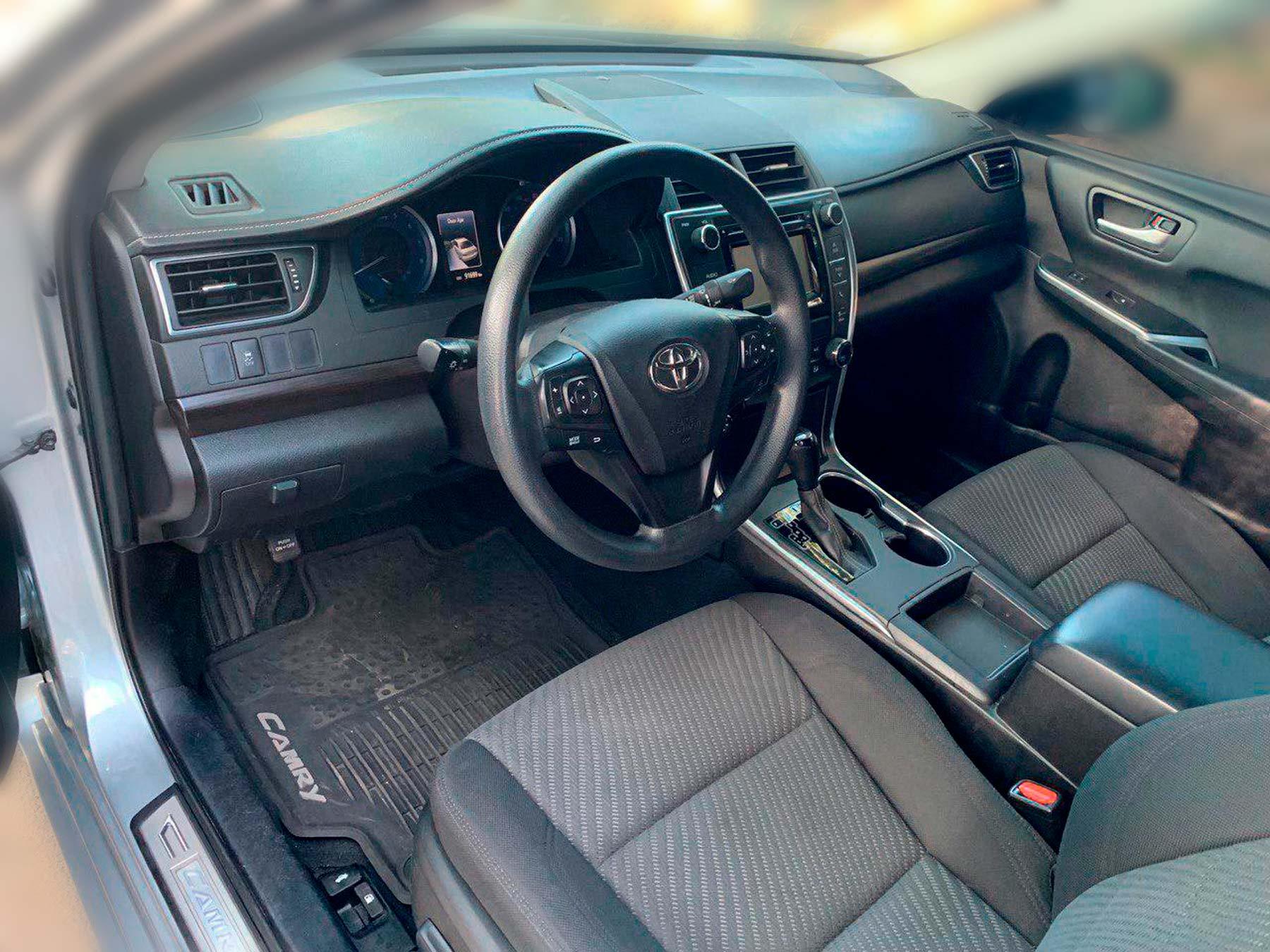 Аренда Toyota Camry 2015