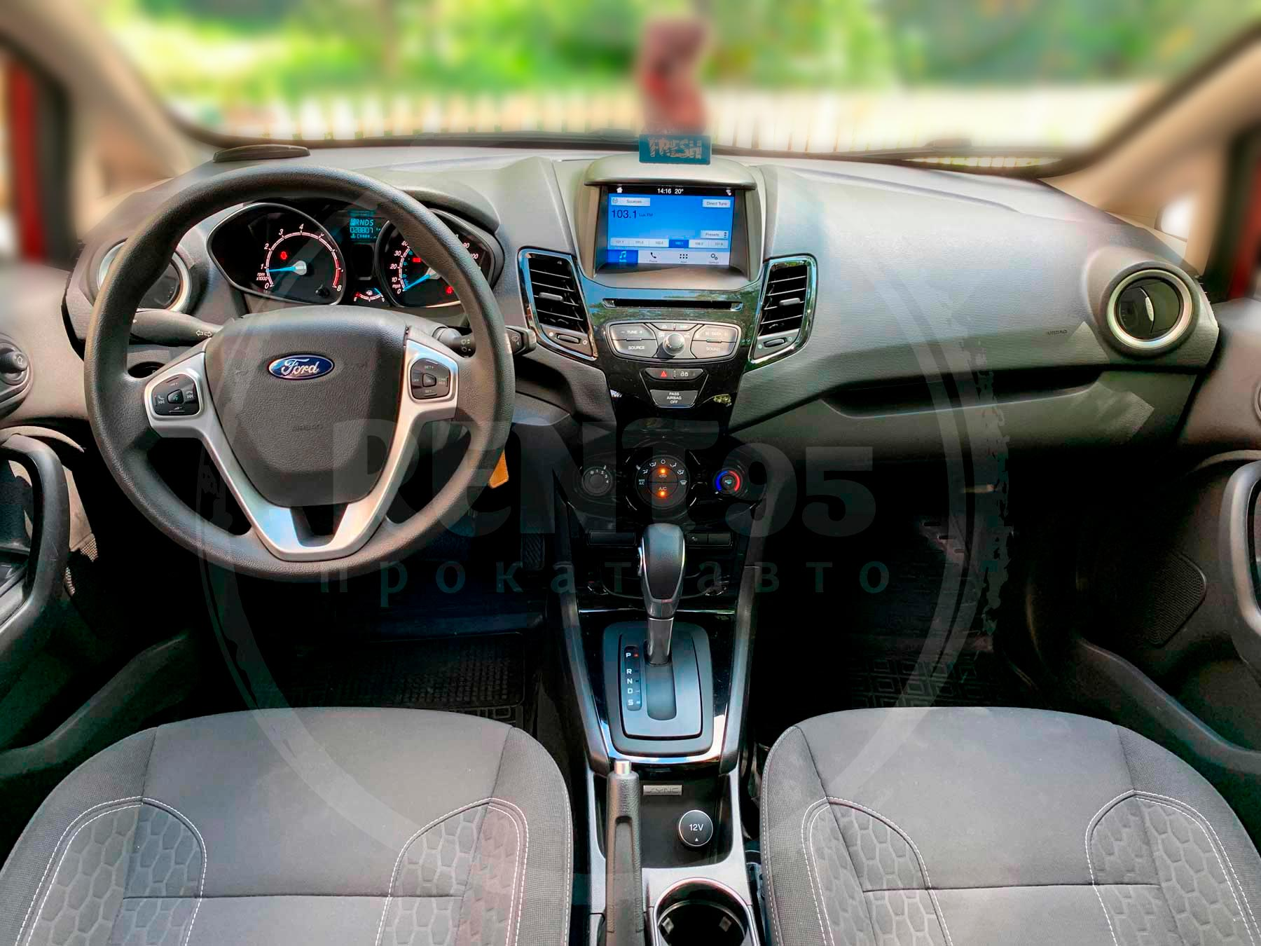 Rent Ford Fiesta 2016 automatic