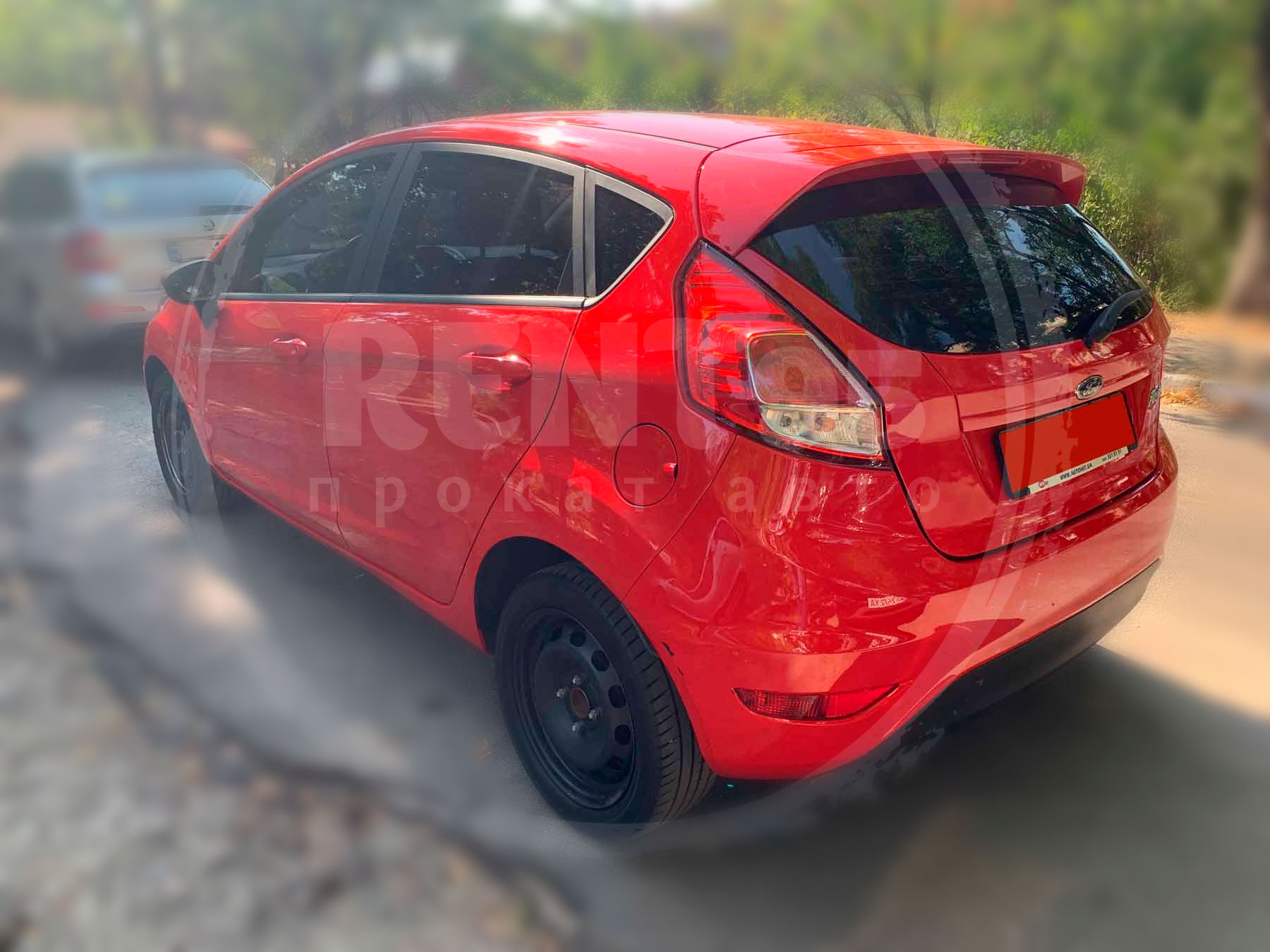Оренда Ford Fiesta 2016