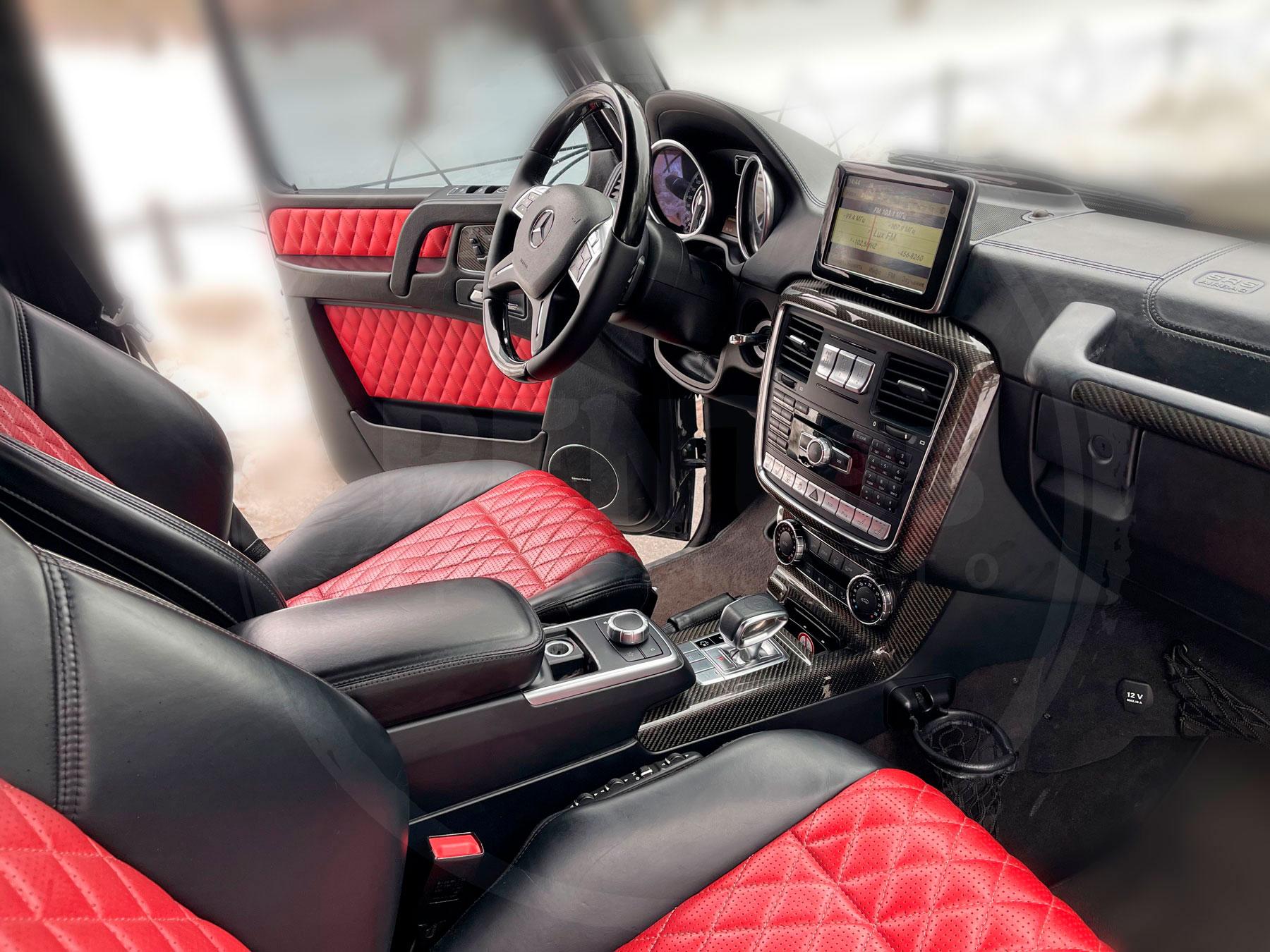 Rent Mercedes-Benz G-class 63 AMG