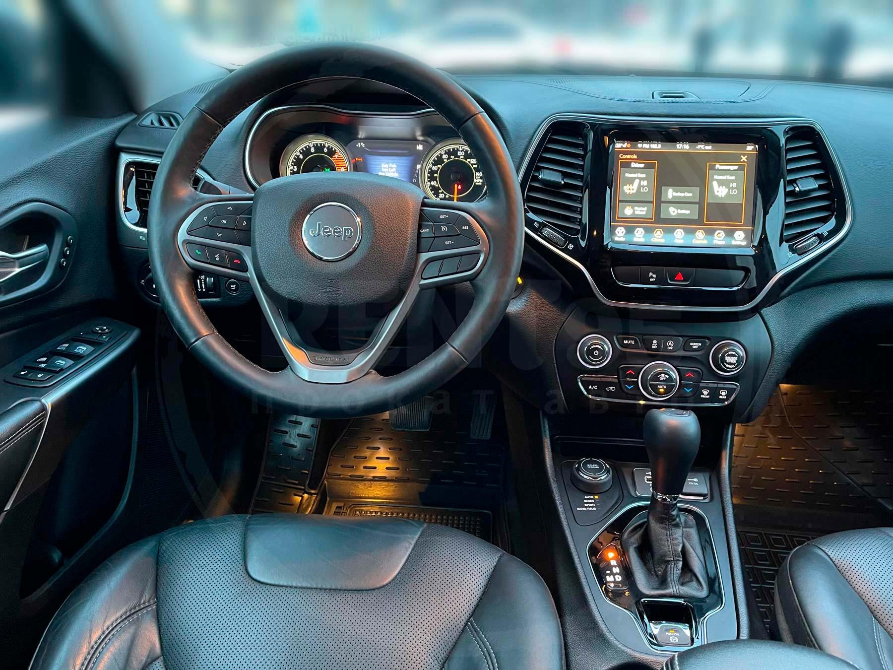 Оренда Jeep Cherokee Limited 2019