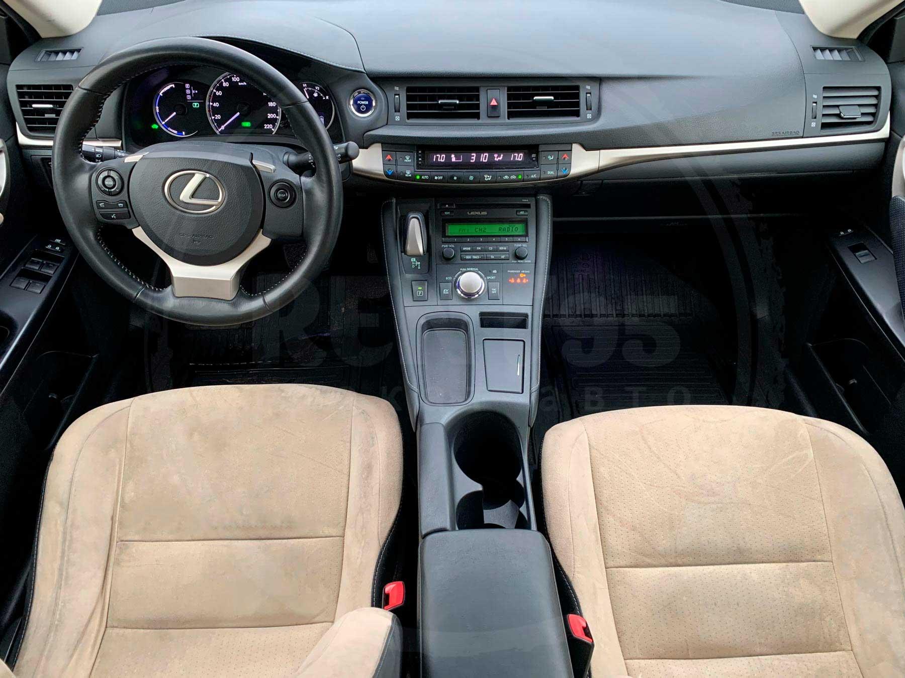 Оренда Lexus CT200h Brown