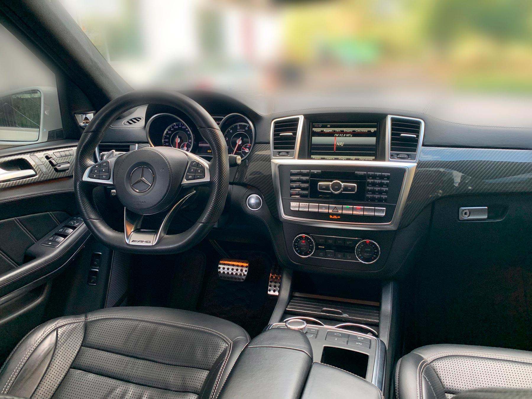 Оренда Mercedes-Benz GLS AMG