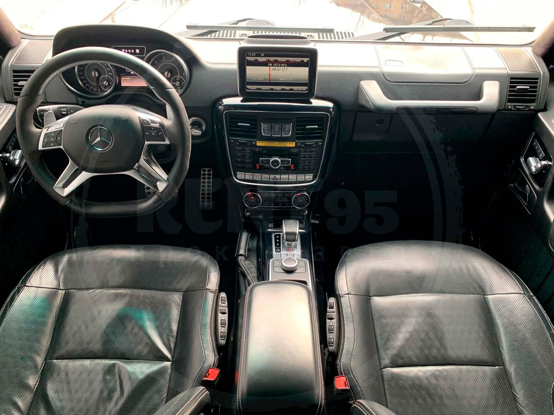 Аренда Mercedes-Benz G-63 AMG 2016