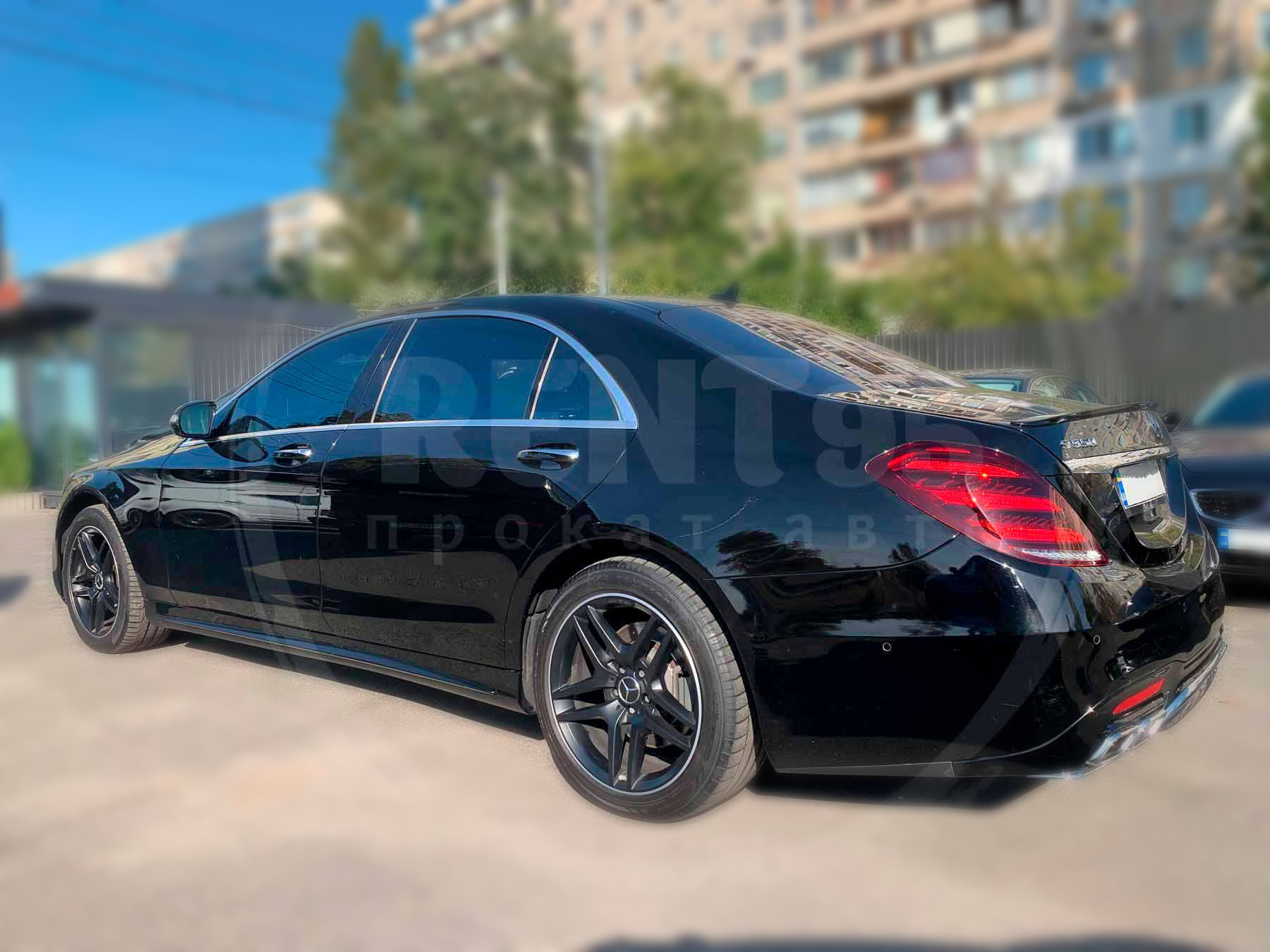 Оренда Mercedes-Benz S550 AMG 4MATIC W222 Restyling 2017