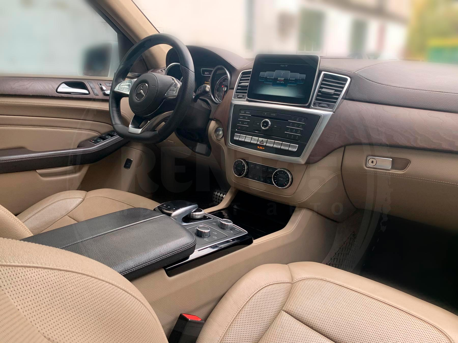 Оренда Mercedes-Benz GLE