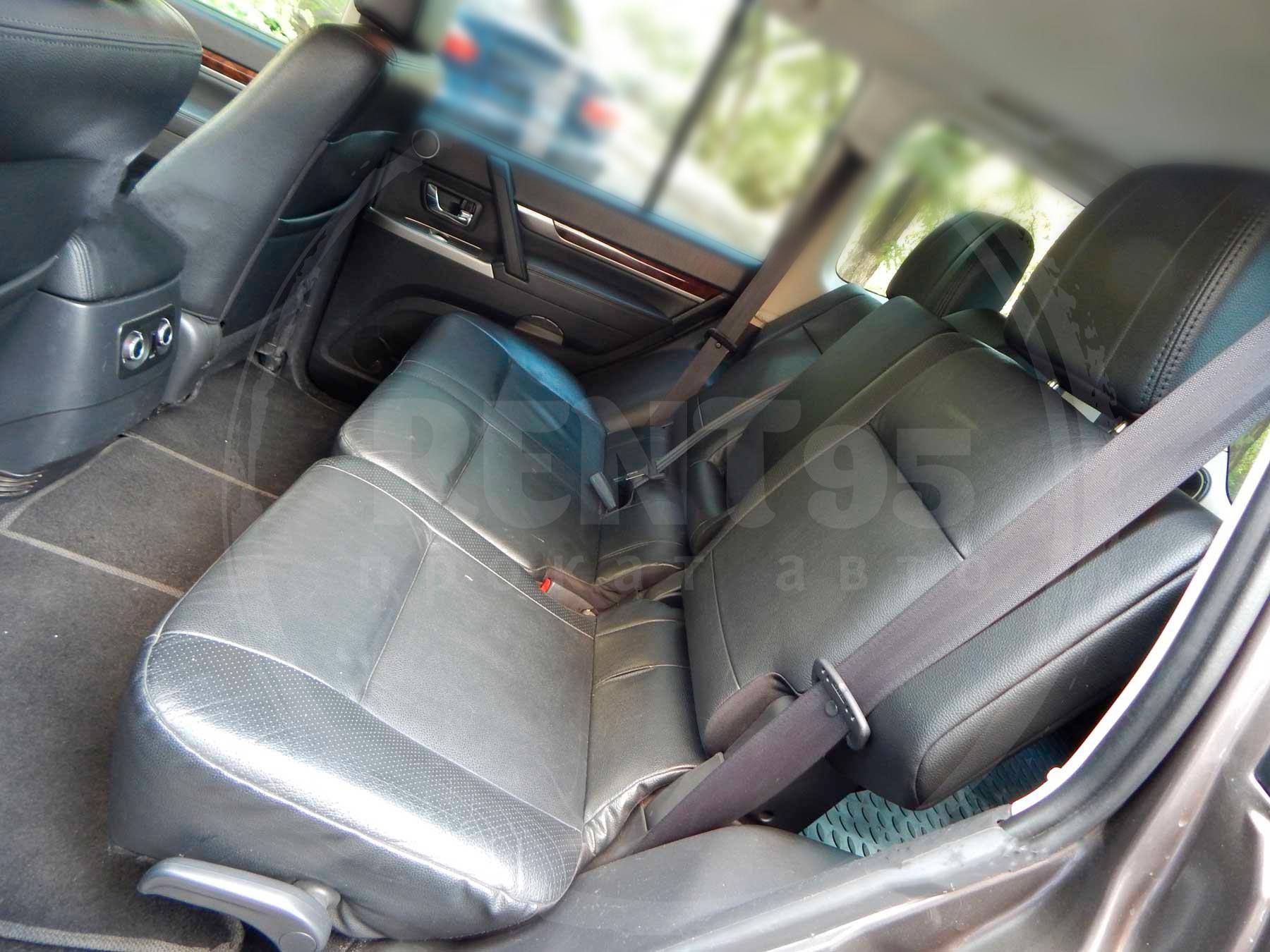 Аренда Mitsubishi Pajero Wagon 2014