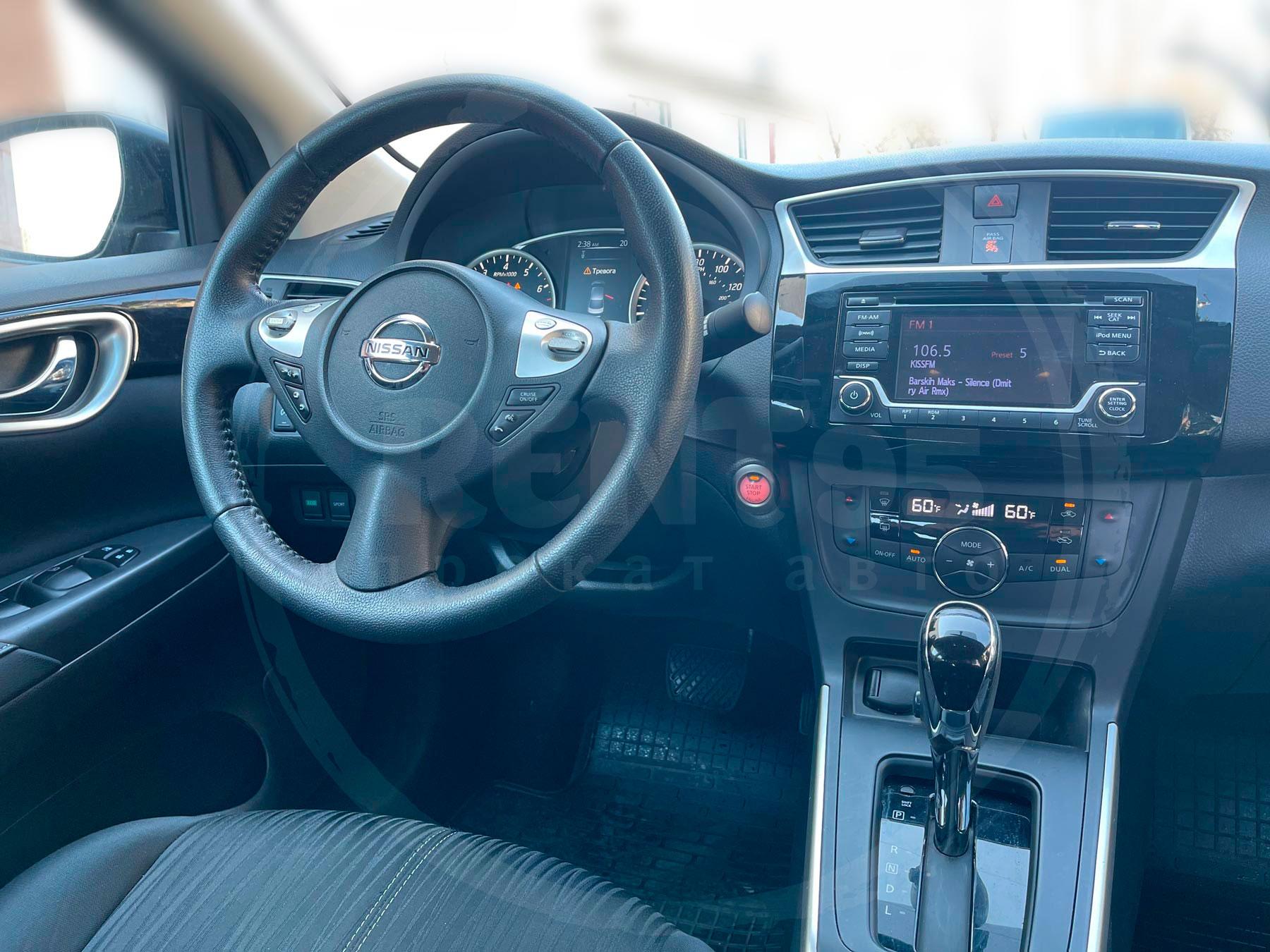 Оренда Nissan Sentra 2018