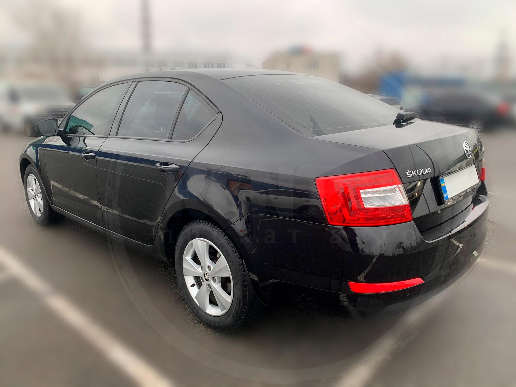 Оренда Skoda Octavia A7 black
