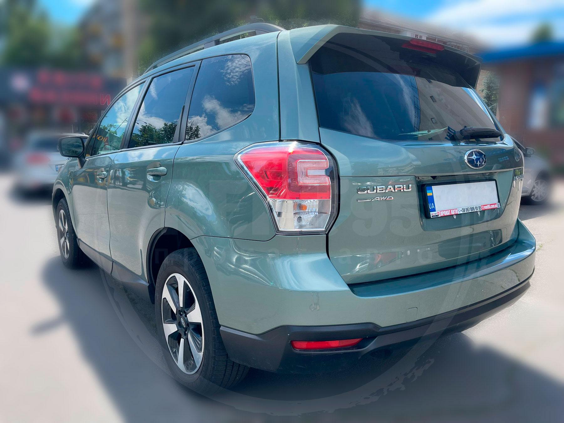 Оренда Subaru Forester