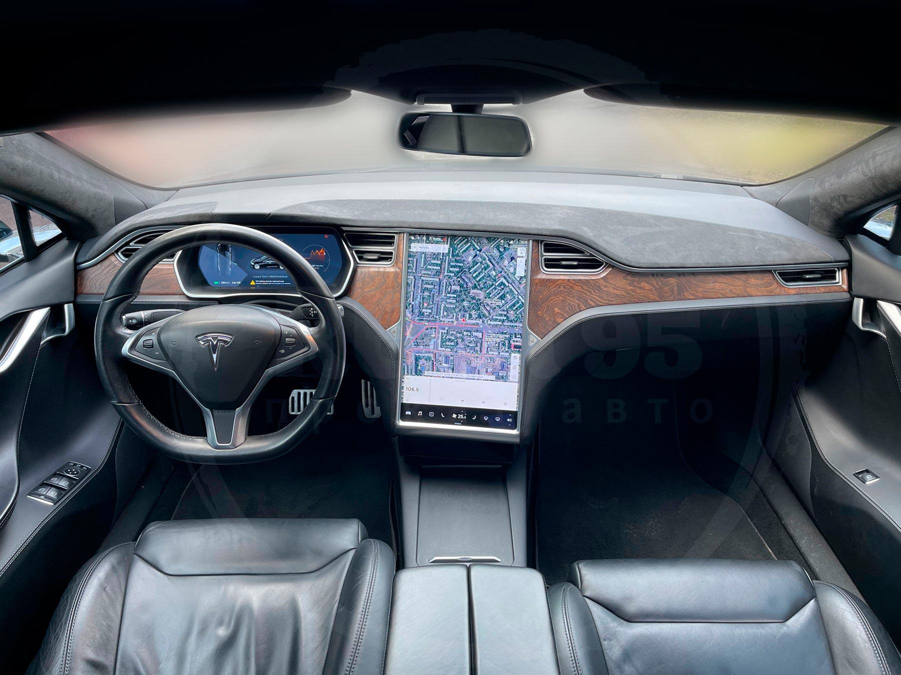 Оренда Tesla model S 75D