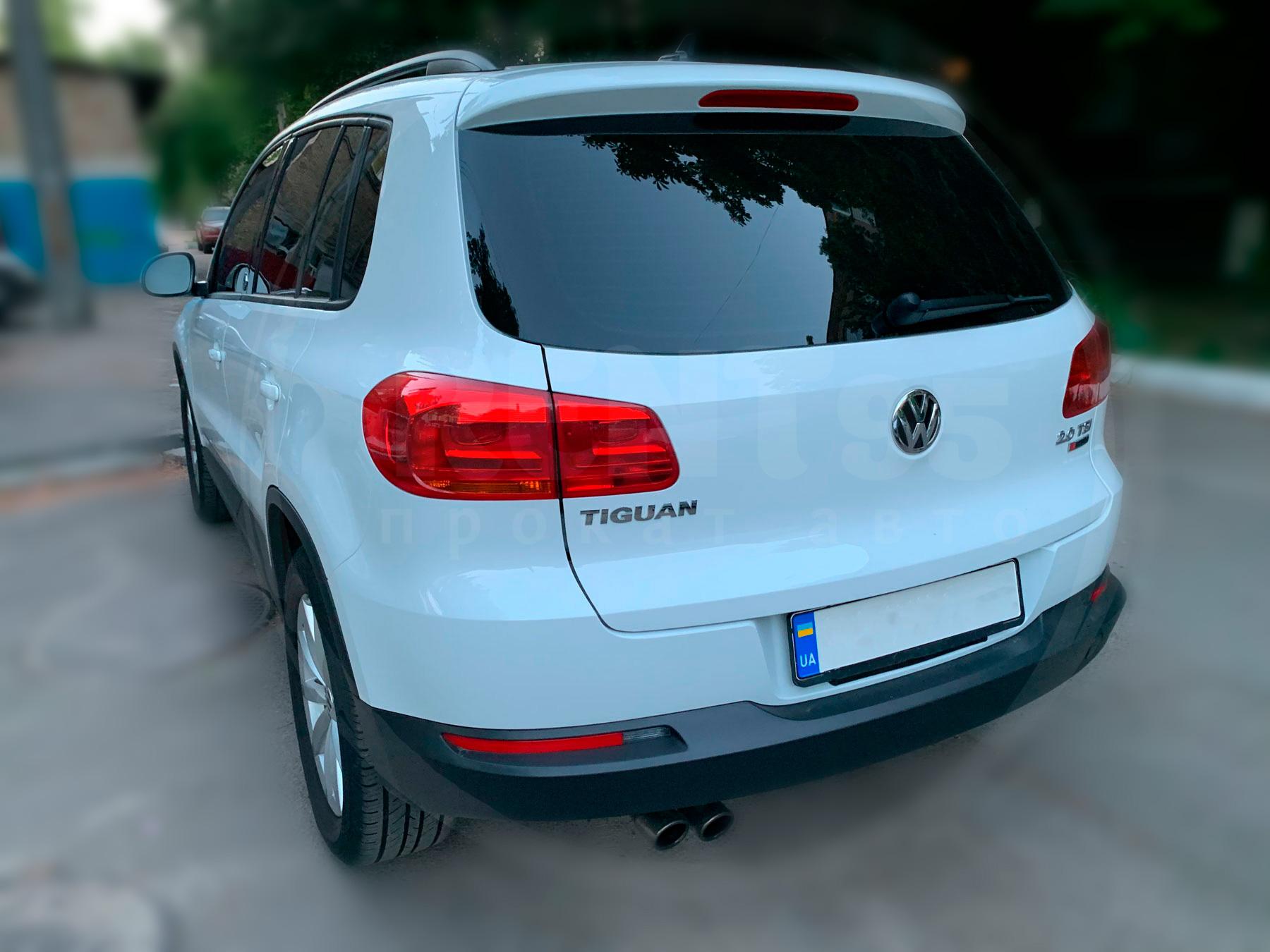 Rent Volkswagen Tiguan 2017
