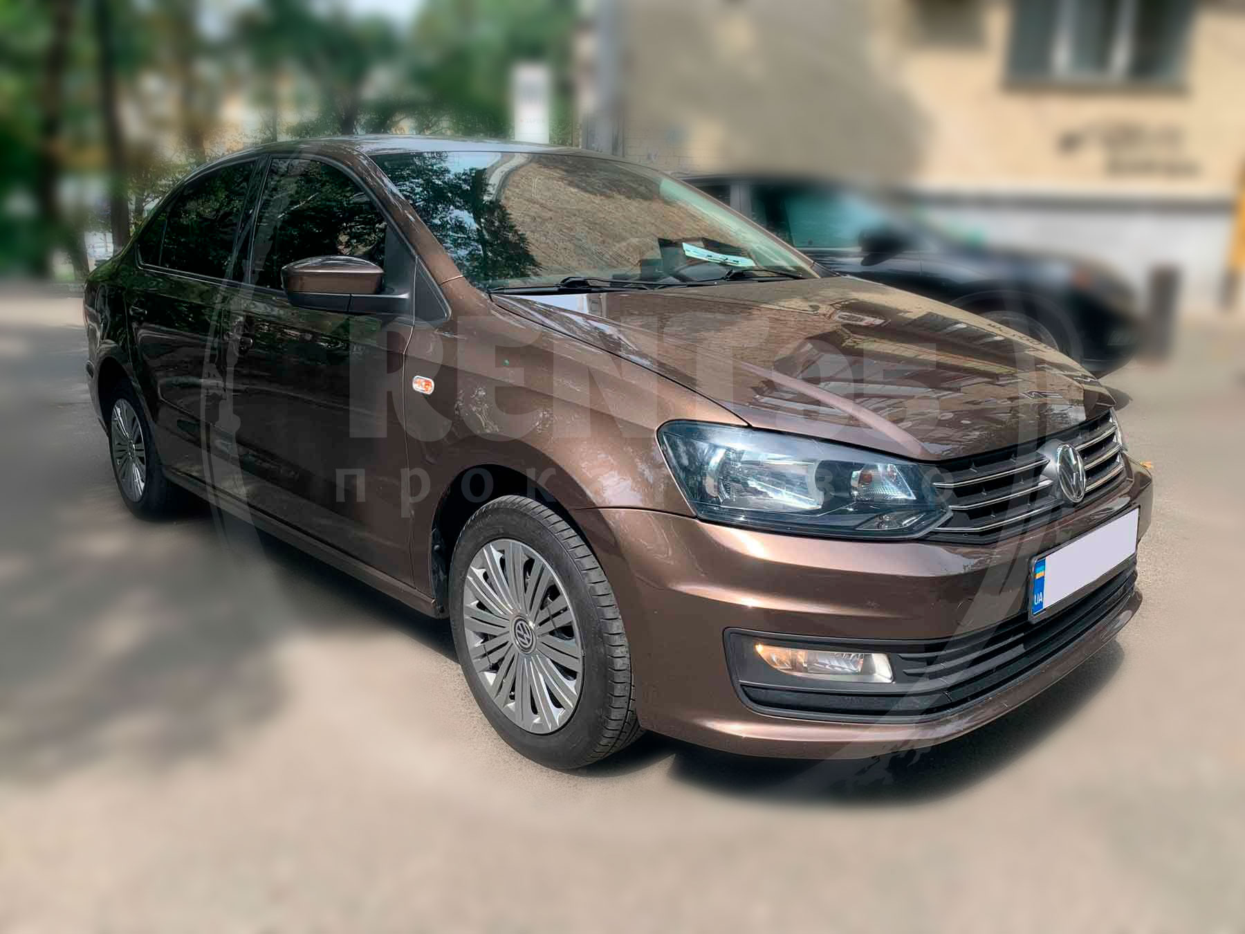 Оренда Volkswagen Polo Sedan 2016
