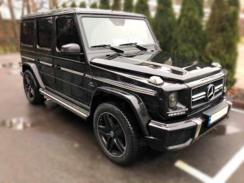 Аренда Mercedes-Benz G-class 63 AMG