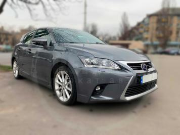 Rent Lexus CT200h Gray