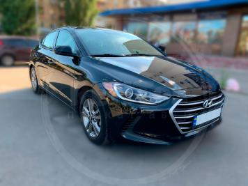Rent Hyundai Elantra black