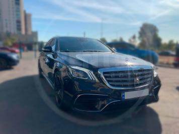 Аренда Mercedes-Benz S550 AMG 4MATIC W222 Restyling 2017