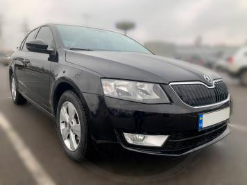 Rent Skoda Octavia A7 black
