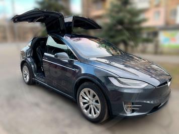 Rent Tesla-Model-X-100D